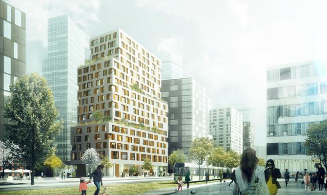 B1a4 paris rive gauche fres architectes for Bureau de change paris 13 avenue d ivry