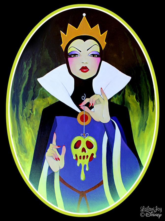 ~ Disney Art - Leilani JoyDisney Evil Queen Art